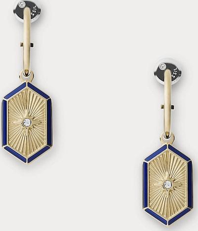 FOSSIL Fossil Damen-Ohrhänger Edelstahl, Kunstharz ' ' in gold, Produktansicht