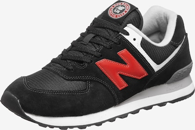 new balance Sneakers in Grey / Red / Black, Item view