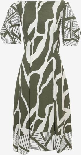 Madam-T Sommerkleid 'ROBERTA' in grün / weiß, Produktansicht