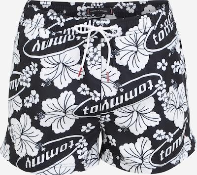 Șorturi de baie Tommy Hilfiger Underwear pe albastru închis / roșu / alb, Vizualizare produs