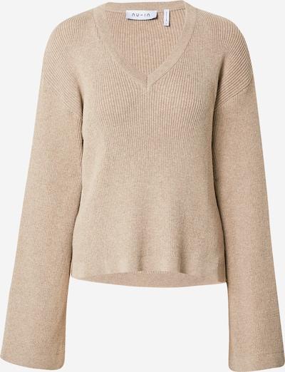 NU-IN Pullover in hellbeige, Produktansicht