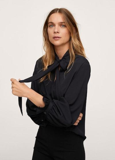 MANGO Bluse 'fire' in schwarz, Modelansicht