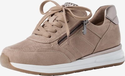 MARCO TOZZI Sneakers in Camel / Silver, Item view