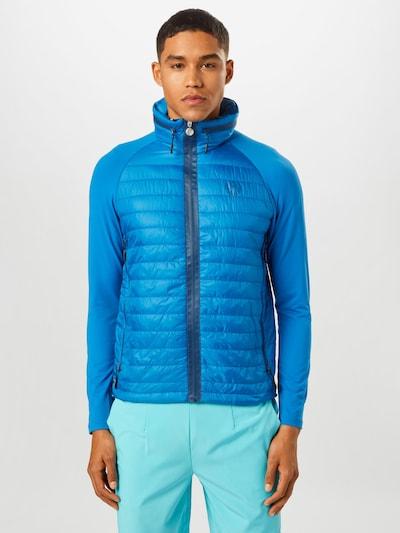 BIDI BADU Sportjas 'Pandu Tech Down' in de kleur Blauw: Vooraanzicht