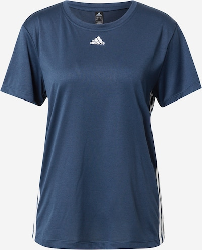 ADIDAS PERFORMANCE Functional shirt in marine blue / White, Item view