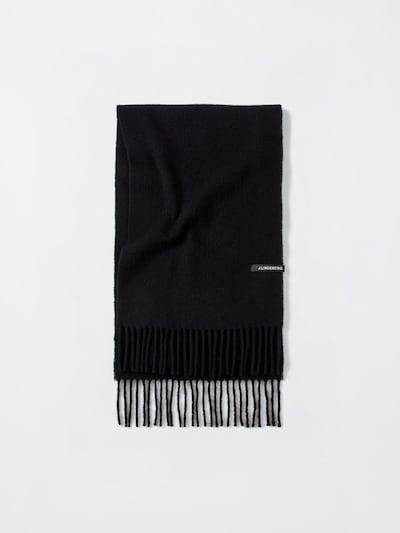 J.Lindeberg Sjaal in de kleur Zwart, Productweergave
