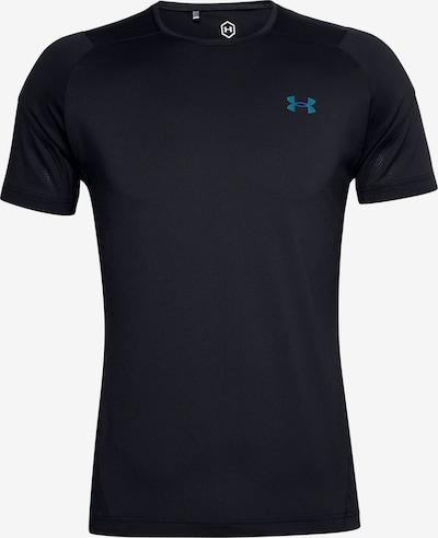 UNDER ARMOUR T-Shirt fonctionnel en bleu / noir, Vue avec produit