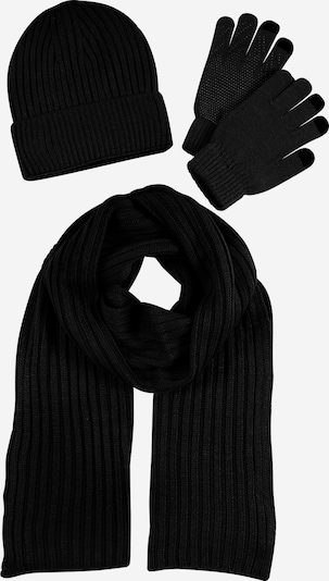 ABOUT YOU Šál 'Finn Set' - čierna, Produkt