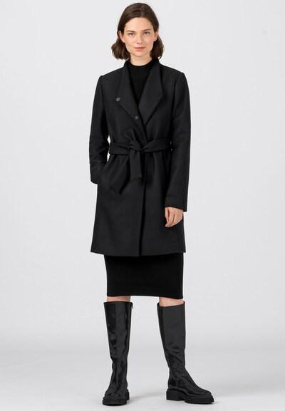HALLHUBER Wintermantel in schwarz, Modelansicht