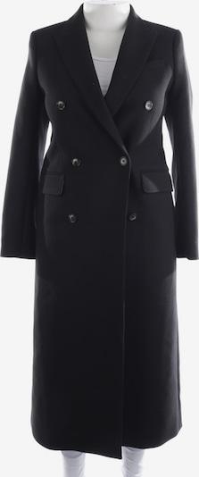 All Saints Spitalfields Winterjacke / Wintermantel in S in schwarz, Produktansicht