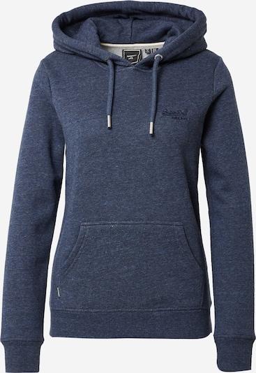 Superdry Sweatshirt in mottled blue, Item view