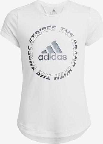 ADIDAS PERFORMANCE Performance Shirt in White