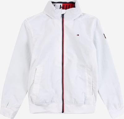TOMMY HILFIGER Veste mi-saison 'ESSENTIAL' en rouge / noir / blanc, Vue avec produit