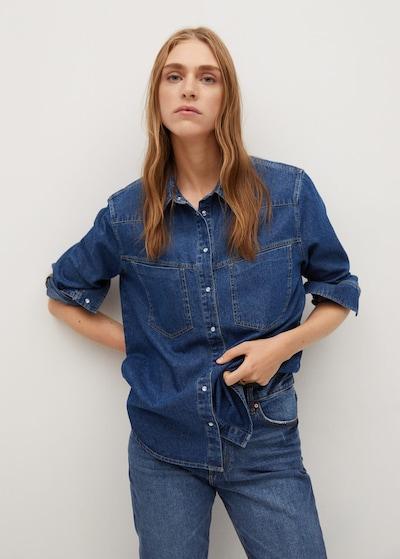 MANGO Halenka 'Frida' - tmavě modrá, Model/ka
