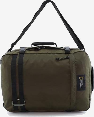 National Geographic Rucksack 'Hybrid' in khaki, Produktansicht