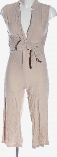 PrettyLittleThing Langer Jumpsuit in XS in wollweiß, Produktansicht