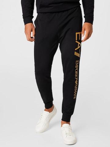 Pantalon EA7 Emporio Armani en noir