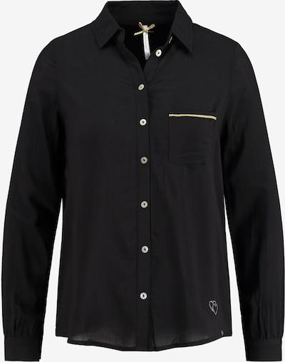 Key Largo Bluse 'WB SUMRU' in schwarz, Produktansicht