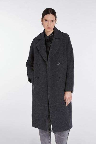 SET Between-Seasons Coat in Dark grey, View model