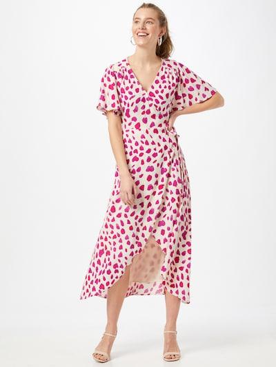 Fabienne Chapot Kleid 'Archana' in fuchsia / neonpink / naturweiß, Modelansicht