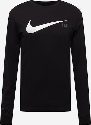 Nike Sportswear Shirt in Schwarz