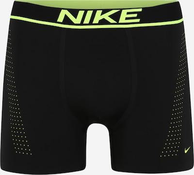 NIKE Športne spodnjice | rumena / črna barva, Prikaz izdelka
