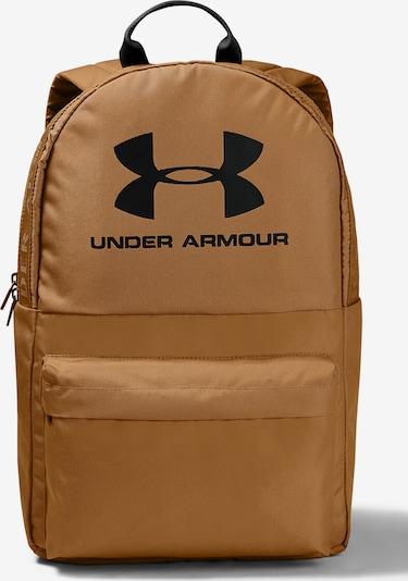 UNDER ARMOUR Rucksack 'Loudon' in dunkelgelb / schwarz, Produktansicht