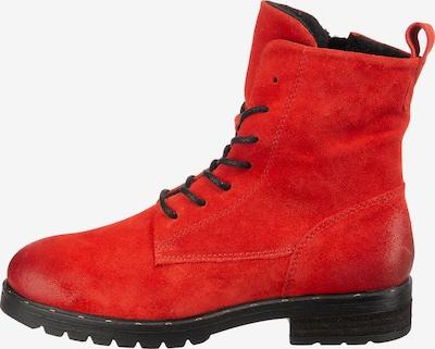 Mirapodo Schnürstiefelette in rot, Produktansicht