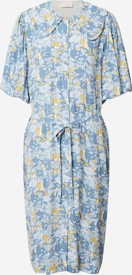 Rochie tip bluză 'Sarana' minus pe albastru / albastru deschis / verde stuf, Vizualizare produs