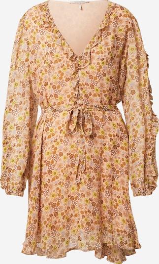 SCOTCH & SODA Kleid in hellbraun / gelb / helllila / rosa, Produktansicht