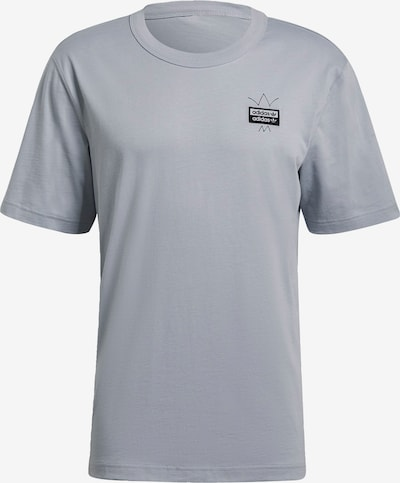 ADIDAS ORIGINALS T-Shirt in grau / schwarz, Produktansicht