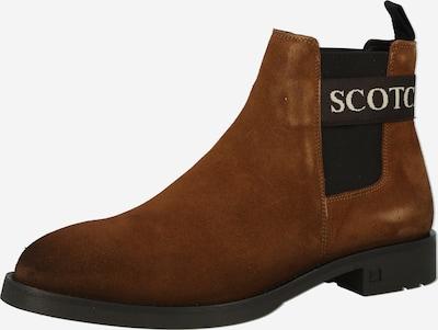 SCOTCH & SODA Chelsea boots 'Picaro' i konjak / svart / vit, Produktvy