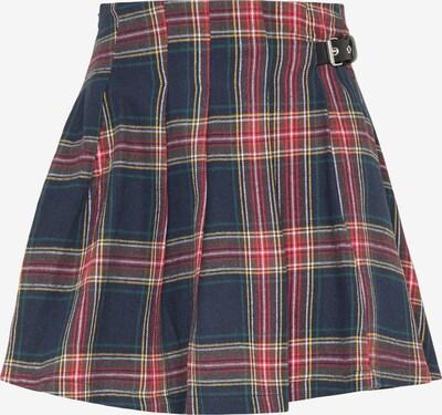 myMo ROCKS Suknja u mornarsko plava / svijetložuta / crvena / bijela, Pregled proizvoda
