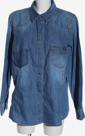 Marina Rinaldi Jeanshemd in 4XL in blau, Produktansicht
