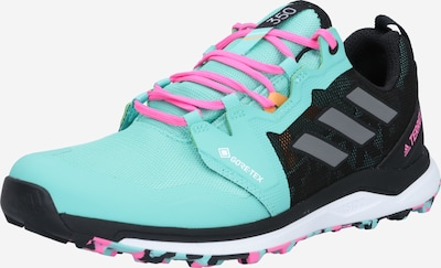 ADIDAS PERFORMANCE Спортни обувки 'TERREX Agravic GORE-TEX' в нефритено зелено / черно, Преглед на продукта