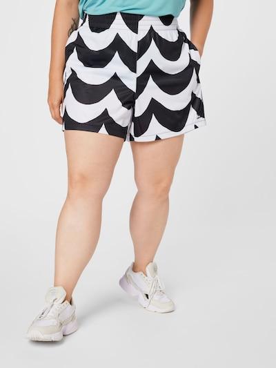 Pantaloni ADIDAS ORIGINALS pe negru / alb, Vizualizare model