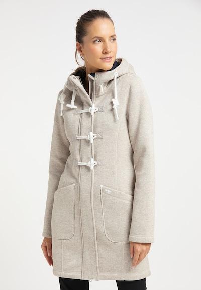 Palton de primăvară-toamnă ICEBOUND pe alb lână, Vizualizare model