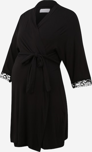 MAMALICIOUS Dressing gown in black, Item view