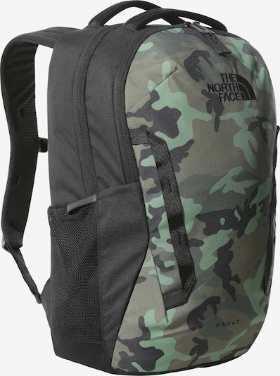 THE NORTH FACE Backpack 'Vault' in Khaki / Dark green / Black, Item view