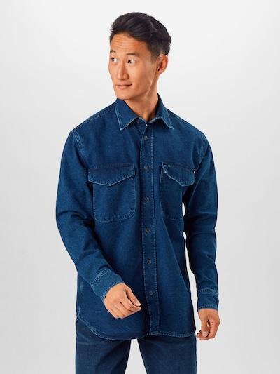 Camicia TOMMY HILFIGER di colore navy: Vista frontale