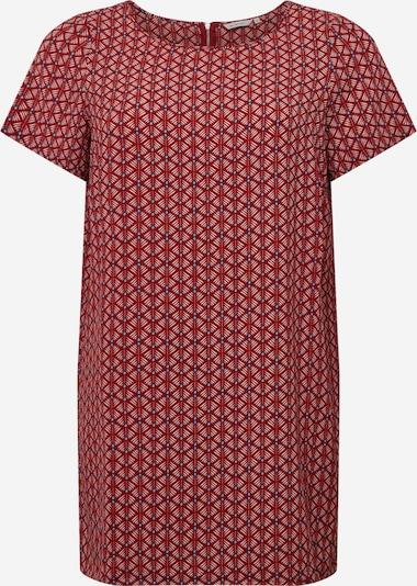 ONLY Carmakoma Kleid in hellblau / rot / weiß, Produktansicht