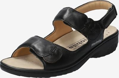 MOBILSergonomic Sandale 'Getha' in schwarz, Produktansicht