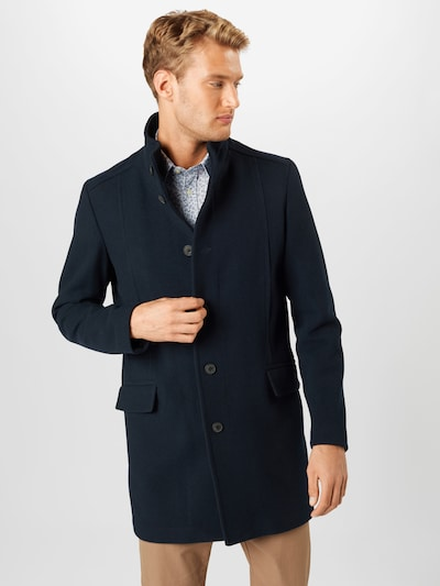 SELECTED HOMME Between-seasons coat 'MORRISON' in dark blue, View model