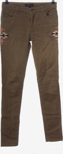 MANGO Skinny Jeans in 27-28 in braun / hellorange / schwarz, Produktansicht