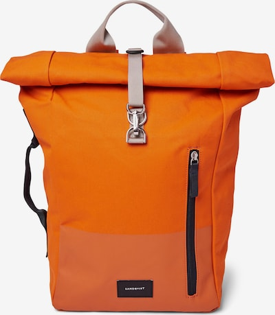 Rucsac 'Dante' SANDQVIST pe portocaliu / portocaliu deschis, Vizualizare produs