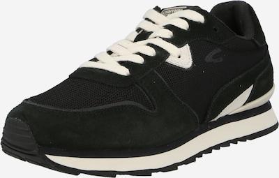 CAMEL ACTIVE Låg sneaker i svart / vit, Produktvy
