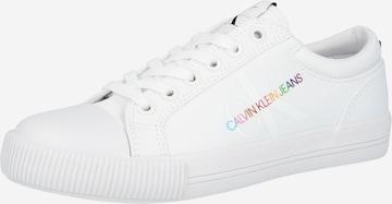 Calvin Klein Jeans Sneaker low i hvit