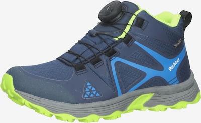RICHTER Sneaker in hellblau / dunkelblau / weiß, Produktansicht