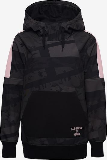 Superdry Snow Sweatshirt in khaki / hellpink / schwarz, Produktansicht