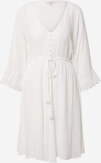 Cream Robe-chemise 'Bea' en blanc, Vue avec produit